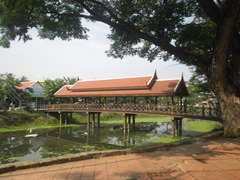 Bridge over the Siem Reap River