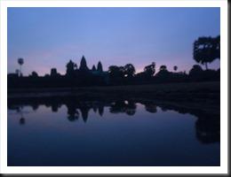 Angkor Wat at 5:37 am, 13 April 2013
