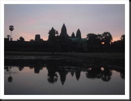 Angkor Wat at 5:41 am, 13 April 2013