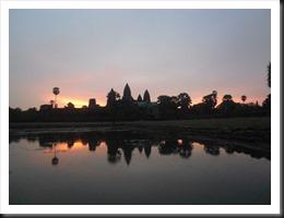 Angkor Wat at 5:49 am, 13 April 2013
