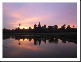 Angkor Wat at 5:52 am, 13 April 2013