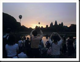Angkor Wat at 6:01 am, 13 April 2013