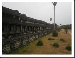 Northern-facing galleries at Angkor Wat.