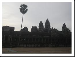 Towers of Angkor Wat.