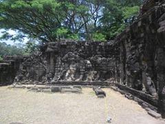 Terrace of the Elephants, Angkor Thom, Cambodia.