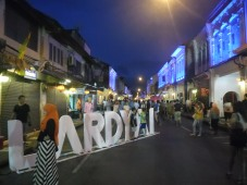 Phuket Town's 'Lard Yai' -- Sunday evening walking street market