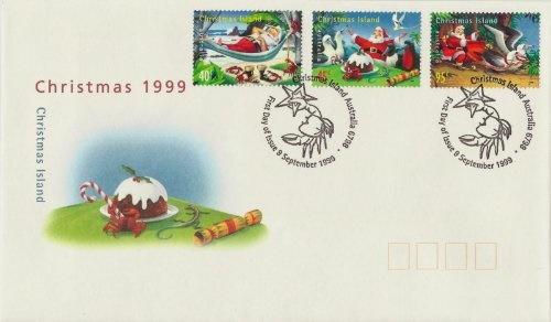 ChristmasIsland1999FDC