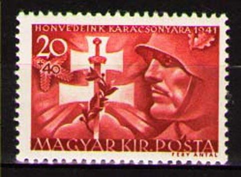 1941 Hungary Christmas