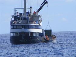 Claymore II - Pitcairn Island supply ship
