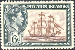 Pitcairn Islands Scott #6 6d (1940)