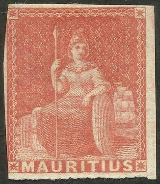 Mauritius - 10 - 1858