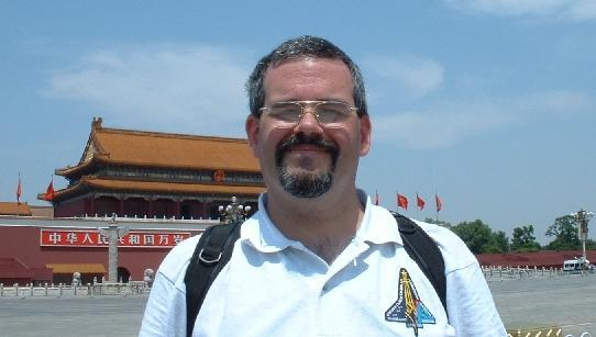 In Tiananmen Square, Beijing - June 2003
