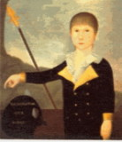 Sameul Arell Marsteller - grandson of Philip, painted by Jacob Frymire (August 1800)